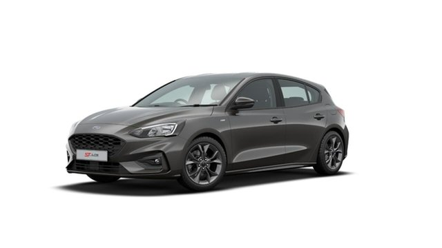 Used Ford Focus SA 2019.75MY ST-Line Midland, 2019 Ford Focus SA 2019.75MY ST-Line Grey 8 Speed Automatic Hatchback