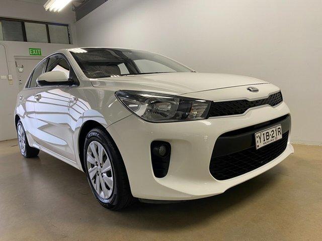 Used Kia Rio YB MY18 S Phillip, 2018 Kia Rio YB MY18 S White 4 Speed Automatic Hatchback