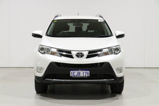 2013 Toyota RAV4 ZSA42R GXL (2WD) White Continuous Variable Wagon.