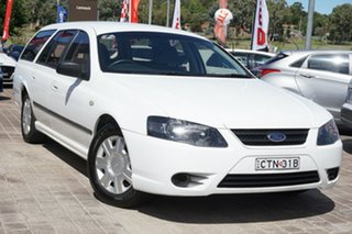 2006 Ford Falcon BF XT White 4 Speed Sports Automatic Wagon.