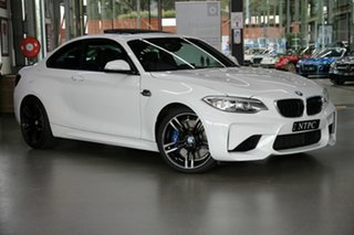 2017 BMW M2 F87 D-CT White 7 Speed Sports Automatic Dual Clutch Coupe.