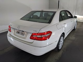 2009 Mercedes-Benz E-Class W212 E250 CDI BlueEFFICIENCY Avantgarde White 5 Speed Sports Automatic