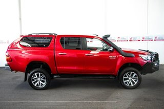2017 Toyota Hilux GUN126R SR5 (4x4) Olympia Red 6 Speed Automatic Dual Cab Utility