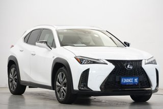 2018 Lexus UX MZAA10R UX200 2WD F Sport White 1 Speed Constant Variable Hatchback.
