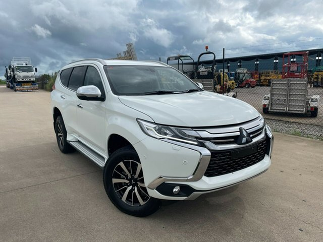 Used Mitsubishi Pajero Sport QE MY18 Exceed Townsville, 2018 Mitsubishi Pajero Sport QE MY18 Exceed White 8 Speed Sports Automatic Wagon