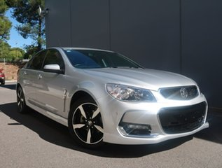2017 Holden Commodore VF II MY17 SV6 Silver 6 Speed Sports Automatic Sedan.