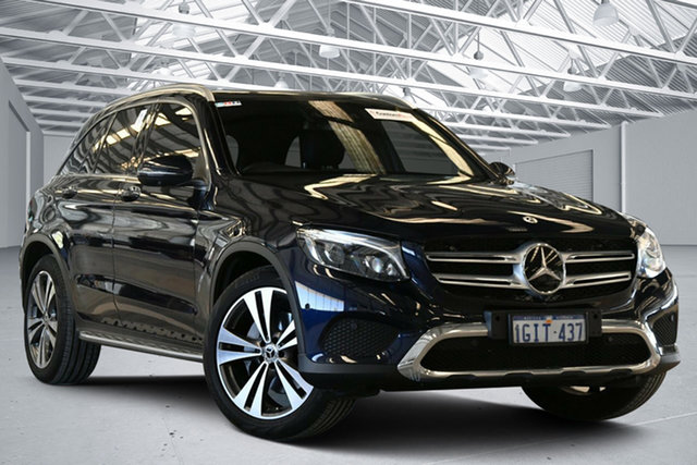 Used Mercedes-Benz GLC250 253 MY17 Perth Airport, 2017 Mercedes-Benz GLC250 253 MY17 Blue 9 Speed Automatic Wagon
