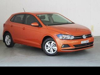 2018 Volkswagen Polo AW MY19 85TSI Comfortline 7 Speed Auto Direct Shift Hatchback
