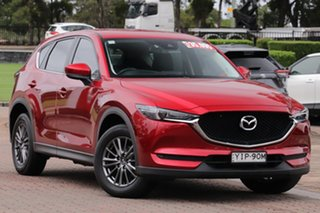 2018 Mazda CX-5 KF4WLA Touring SKYACTIV-Drive i-ACTIV AWD Red 6 Speed Sports Automatic SUV.