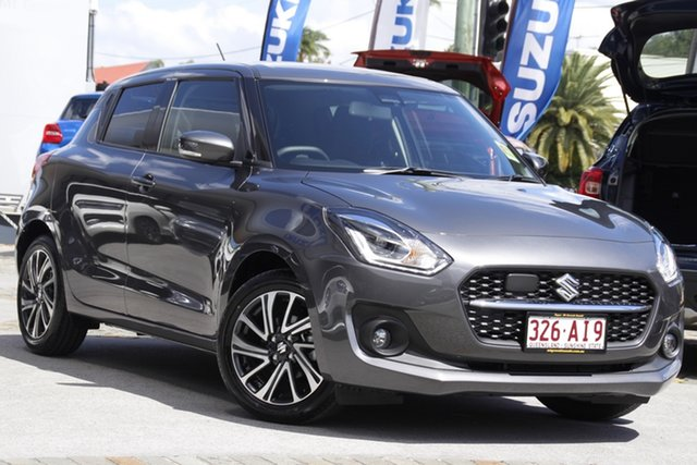 Demo Suzuki Swift AZ Series II GLX Turbo Mount Gravatt, 2020 Suzuki Swift AZ Series II GLX Turbo Mineral Grey 6 Speed Sports Automatic Hatchback