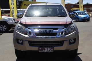 2013 Isuzu D-MAX MY12 LS-U Crew Cab Beige 5 Speed Sports Automatic Utility