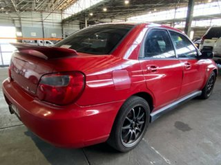 2003 Subaru Impreza S MY03 RS AWD Red 5 Speed Manual Sedan