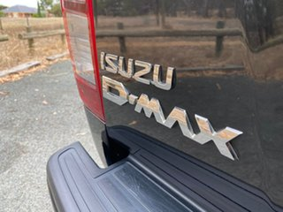 2016 Isuzu D-MAX MY15 LS-M Crew Cab Black 5 Speed Manual Utility