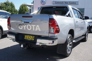 2016 Toyota Hilux GUN126R SR5 Double Cab Grey 6 Speed Manual Utility
