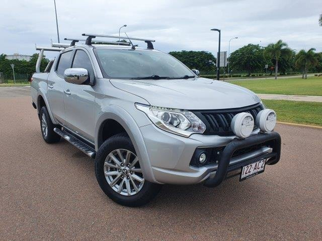 Used Mitsubishi Triton MQ MY16 GLS Double Cab Townsville, 2015 Mitsubishi Triton MQ MY16 GLS Double Cab Silver 5 Speed Sports Automatic Utility