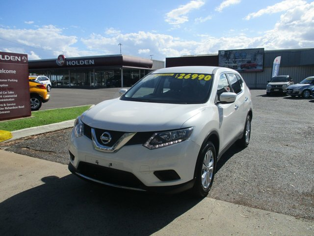 Used Nissan X-Trail T32 ST X-tronic 2WD North Rockhampton, 2016 Nissan X-Trail T32 ST X-tronic 2WD White 7 Speed Constant Variable Wagon