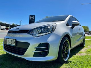 2015 Kia Rio UB MY15 SLi Silver 6 Speed Sports Automatic Hatchback.