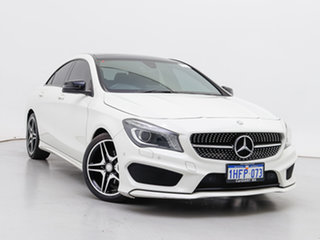 2016 Mercedes-Benz CLA200 117 MY16 White 7 Speed Automatic Coupe.