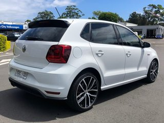 2014 Volkswagen Polo 6R MY15 GTi White 6 Speed Manual Hatchback