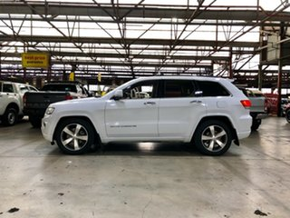 2014 Jeep Grand Cherokee WK MY2014 Overland White 8 Speed Sports Automatic Wagon