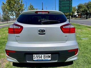 2015 Kia Rio UB MY15 SLi Silver 6 Speed Sports Automatic Hatchback