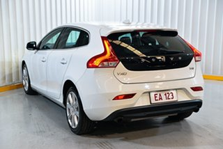 2017 Volvo V40 M Series MY18 T4 Adap Geartronic Inscription White 6 Speed Sports Automatic Hatchback