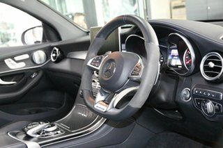 2018 Mercedes-Benz GLC-Class C253 GLC63 AMG Coupe SPEEDSHIFT MCT 4MATIC+ S White 9 Speed.