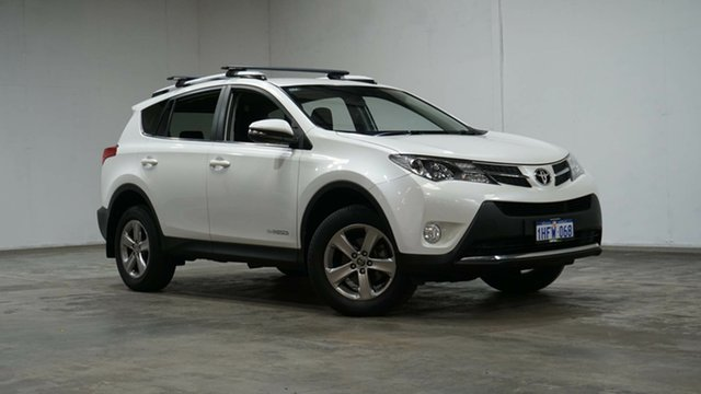 Used Toyota RAV4 ALA49R MY14 GXL AWD Welshpool, 2014 Toyota RAV4 ALA49R MY14 GXL AWD White 6 Speed Manual Wagon