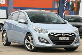 2012 Hyundai i30 GD Premium Blue 6 Speed Automatic Hatchback