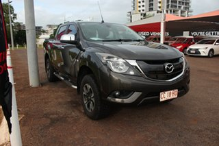 2015 Mazda BT-50 UP0YF1 XTR Grey 6 Speed Automatic Dual Cab Utility