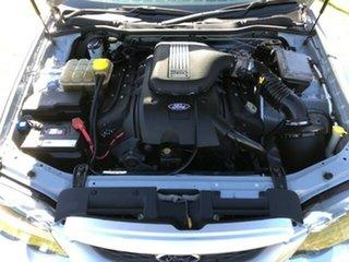 2004 Ford Falcon BA XR8 Ute Super Cab Silver 5 Speed Manual Utility