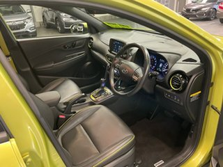 2017 Hyundai Kona OS MY18 Highlander 2WD Yellow 6 Speed Sports Automatic Wagon