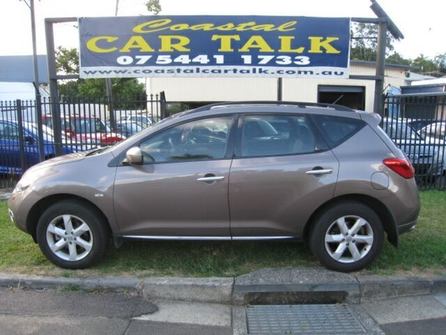 Used Nissan Murano Z51 MY12 TI Nambour, 2011 Nissan Murano Z51 MY12 TI Brown Continuous Variable Wagon