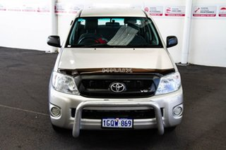 2009 Toyota Hilux GGN15R MY09 SR 4x2 Silver Metallic 5 Speed Automatic Utility.