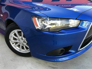 2012 Mitsubishi Lancer CJ MY12 Activ Sportback Blue 5 Speed Manual Hatchback