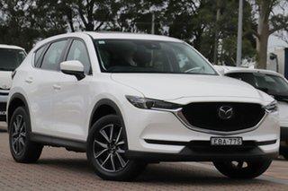 2019 Mazda CX-5 KF4WLA GT SKYACTIV-Drive i-ACTIV AWD White 6 Speed Sports Automatic SUV.