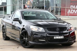 2015 Holden Ute VF MY15 SV6 Lightning Black 6 Speed Automatic Utility.