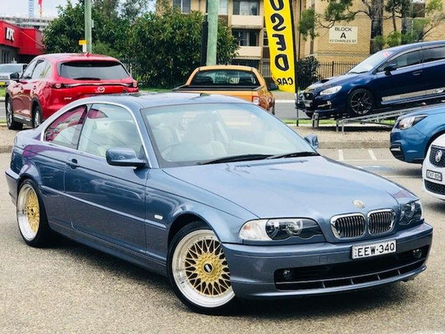 Used BMW 3 Series E46 MY2002 325Ci Steptronic Liverpool, 2001 BMW 3 Series E46 MY2002 325Ci Steptronic Blue 5 Speed Sports Automatic Coupe