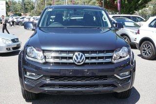 2019 Volkswagen Amarok 2H MY19 TDI550 4MOTION Perm Sportline Blue 8 Speed Automatic Utility.