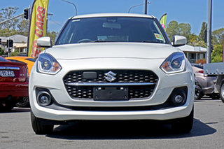 2020 Suzuki Swift AZ Series II GLX Turbo Pure White Pearl 6 Speed Sports Automatic Hatchback.