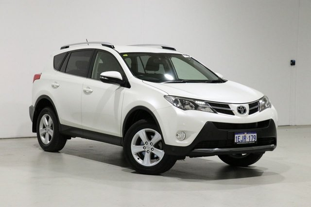 Used Toyota RAV4 ZSA42R GXL (2WD) Bentley, 2013 Toyota RAV4 ZSA42R GXL (2WD) White Continuous Variable Wagon
