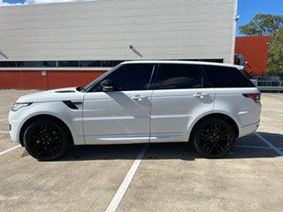 2015 Land Rover Range Rover LW Sport 3.0 TDV6 SE White 8 Speed Automatic Wagon