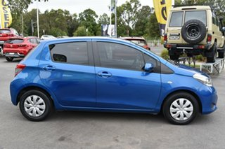 2014 Toyota Yaris NCP130R YR Blue 4 Speed Automatic Hatchback.