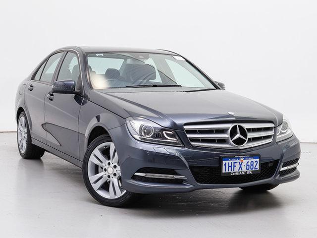 Used Mercedes-Benz C200 W204 MY14 , 2014 Mercedes-Benz C200 W204 MY14 Tenorite Grey 7 Speed Automatic G-Tronic Sedan