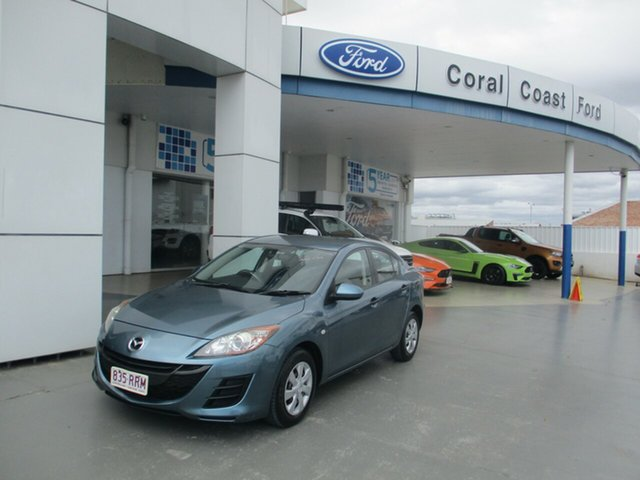 Used Mazda 3 BL 10 Upgrade Neo Bundaberg, 2011 Mazda 3 BL 10 Upgrade Neo Blue 6 Speed Manual Sedan