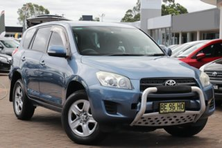 2009 Toyota RAV4 ACA33R MY09 CV Blue 4 Speed Automatic SUV.