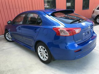 2012 Mitsubishi Lancer CJ MY12 Activ Sportback Blue 5 Speed Manual Hatchback.
