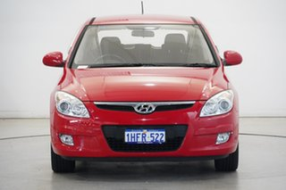 2010 Hyundai i30 FD MY10 SLX Shine Red 5 Speed Manual Hatchback.