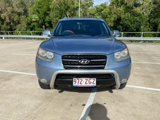 2008 Hyundai Santa Fe CM MY07 Upgrade Elite CRDi (4x4) Blue 5 Speed Automatic Wagon