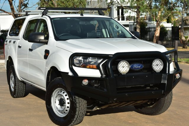 Used Ford Ranger PX MkII XL Hi-Rider St Marys, 2016 Ford Ranger PX MkII XL Hi-Rider White 6 Speed Sports Automatic Utility